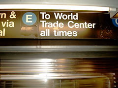 To World Trade Center all times